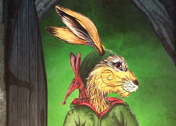 Matlock the Hare Book Trailer